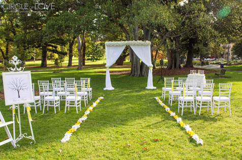 Weddings In Parks City Of Melbourne