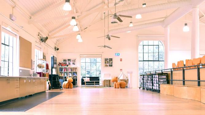 Mezzanine venue for hire at ArtPlay - City of Melbourne