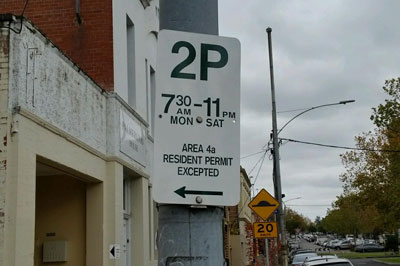 Resident Parking Permits Carlton North And West Melbourne