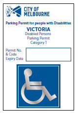 Parking permits for people with disabilities - City of Melbourne