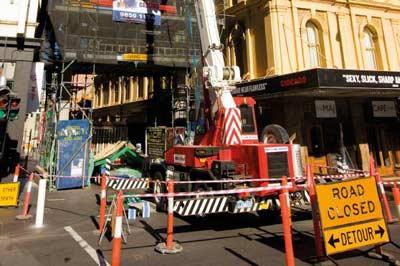 Road closures - City of Melbourne