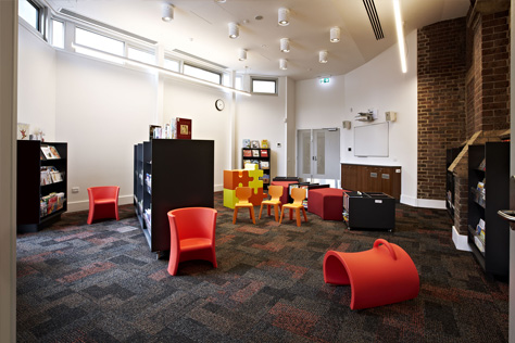 meeting room at kathleen syme library and community centre