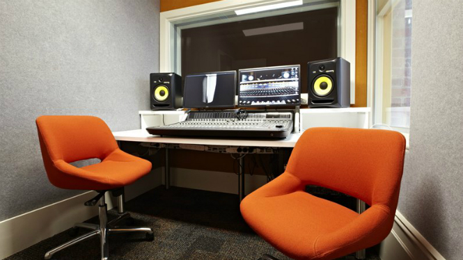 Enjoyable Recording Studio At Kathleen Syme Library And Community Centre Largest Home Design Picture Inspirations Pitcheantrous