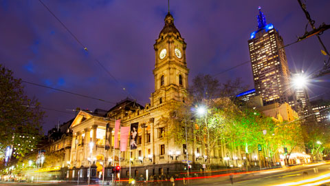Photo of melbourne town hall