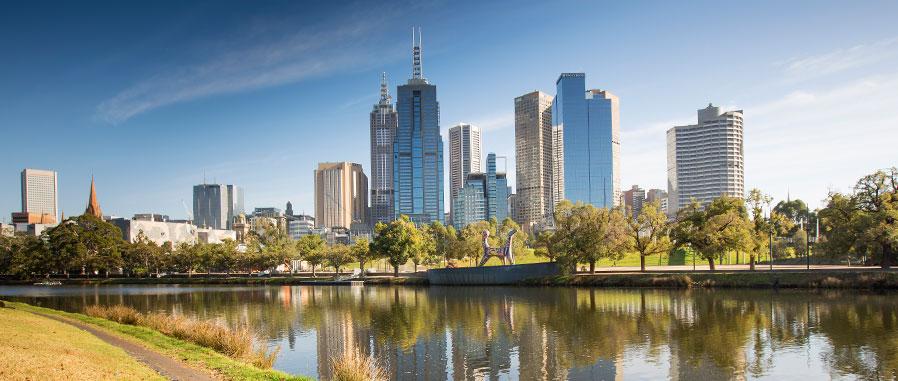 Melbourne City - Sede da F1 - foto by melbourne.vic.gov.au