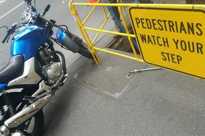 Motorcycle parking - City of Melbourne