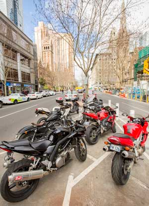Motorcycle Parking City Of Melbourne