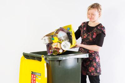 240l Purple Standard Wheelie Bin Dustbin Council Large Waste Rubbish Recycling
