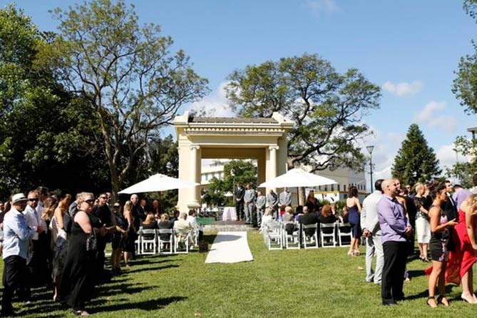 Weddings in parks - City of Melbourne