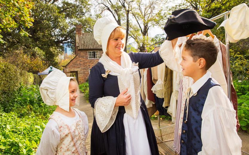 Cooks' Cottage schools (dress up)
