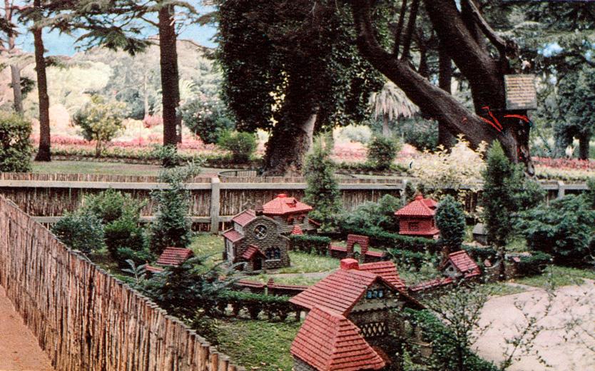 Tudor Village and Fairies' Tree