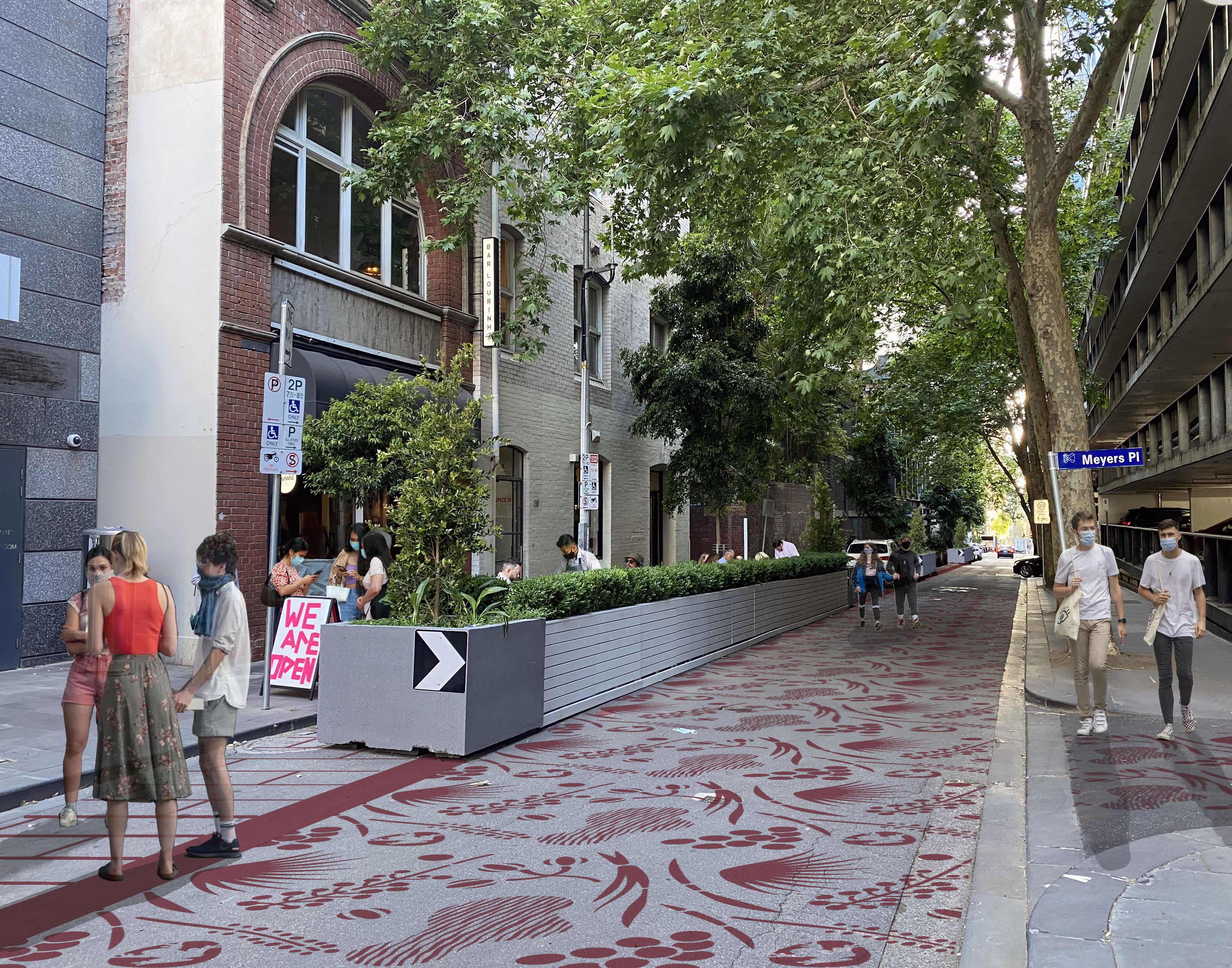 Artists impression Little Collins Street stencils.jpg