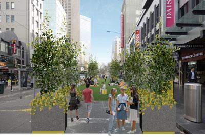 Elizabeth Street To Get Pop-up Park Over Summer - City Of ...
