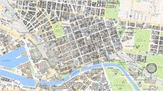 Map Of Melbourne Australia.City Maps City Of Melbourne